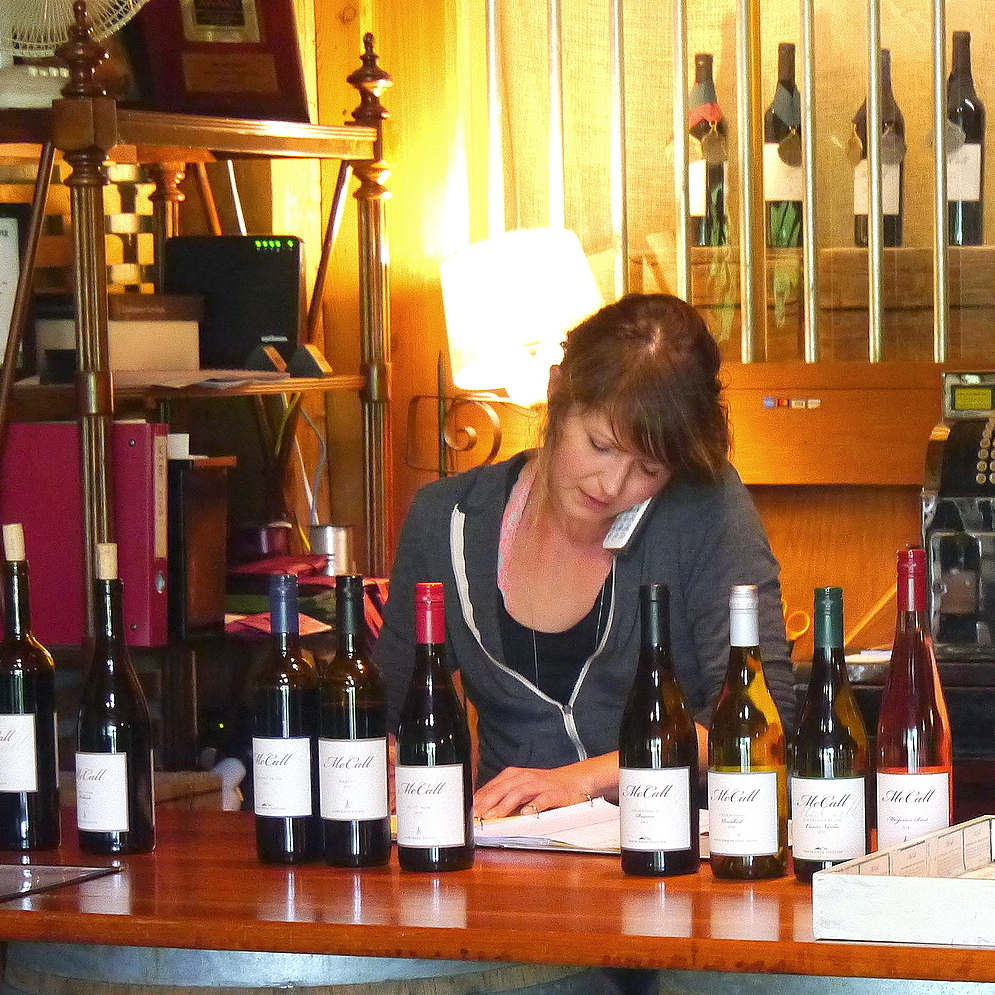 McCall Wines reflect a clean and lean approach