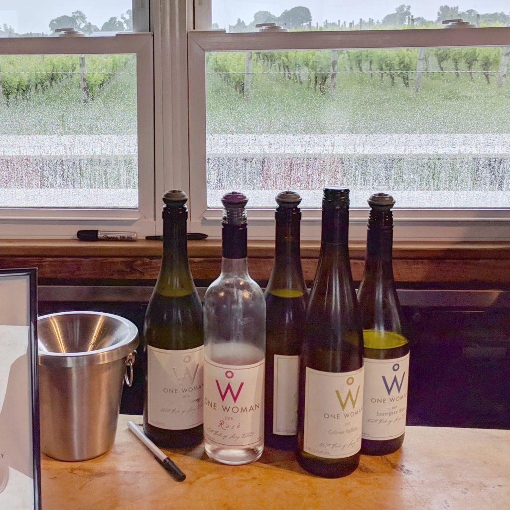 Made by hand: One Woman Wines & Vineyards