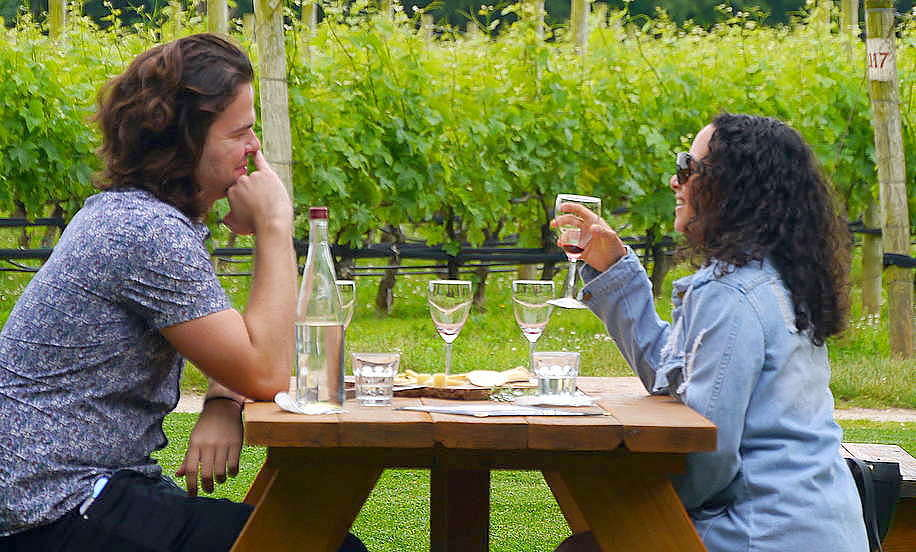 vineyard dining at McCall Wines