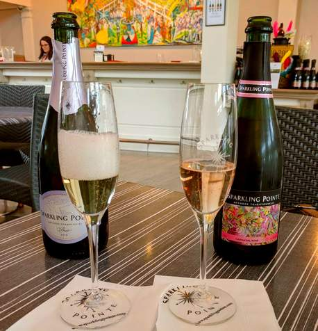 Kontokosta and Sparkling Pointe: North Fork's lifestyle wineries