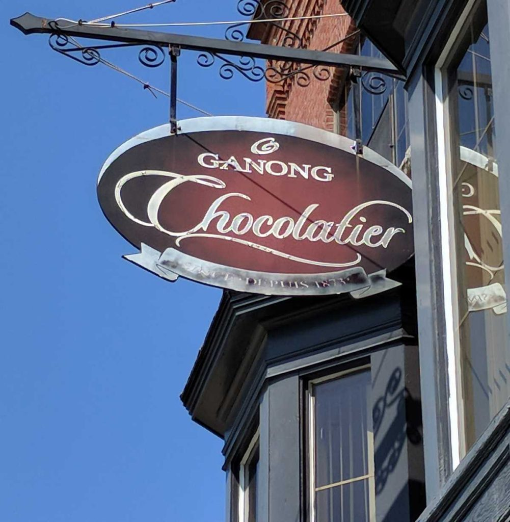 New Brunswick heritage sweets: Ganong Chocolates