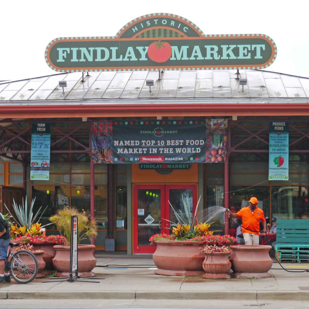 Findlay Market Tour circles the globe
