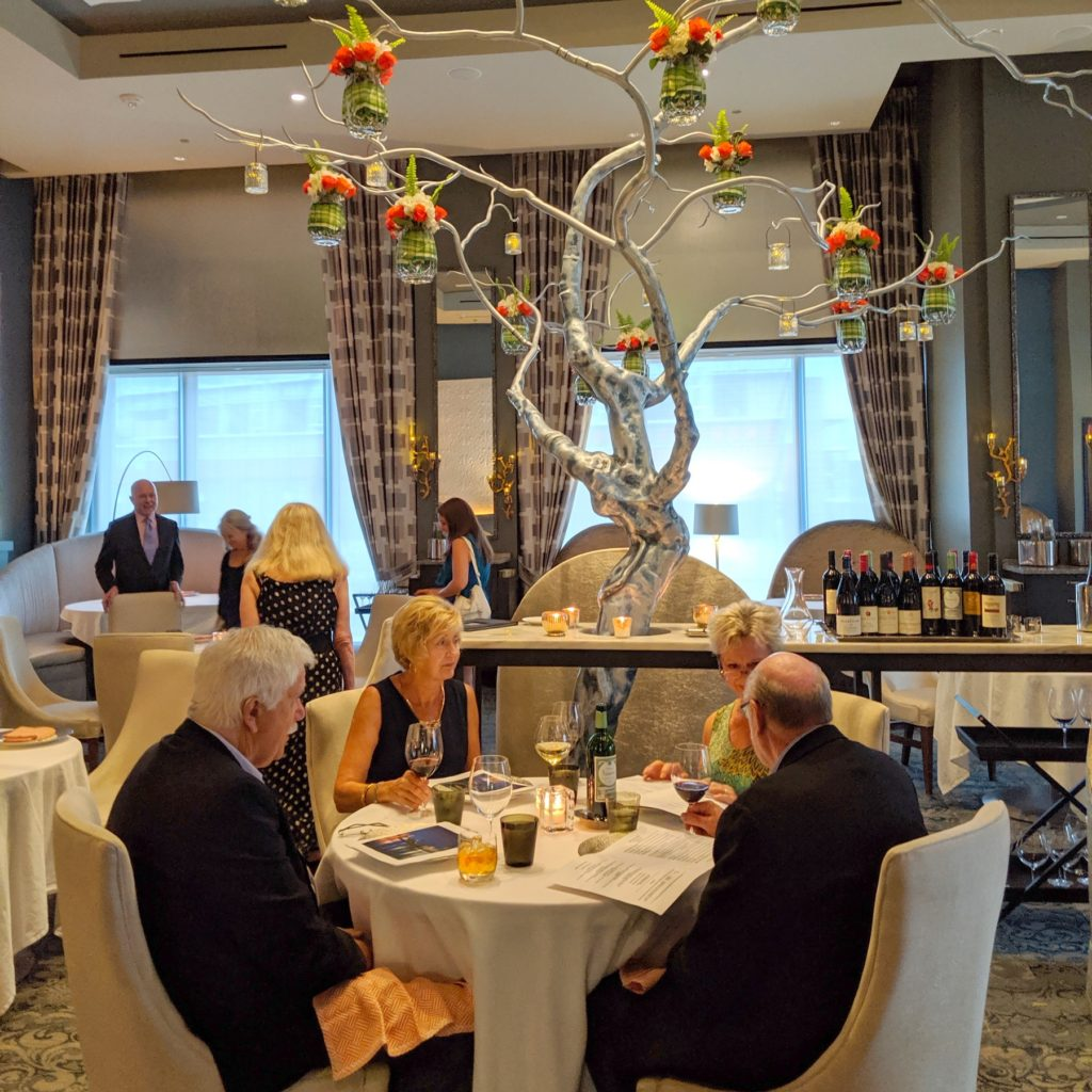 Restaurant L: approachable French haute cuisine
