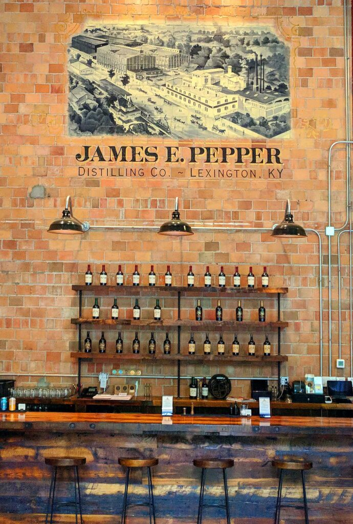 Pepper whiskey: haunting spirits rise from the dead