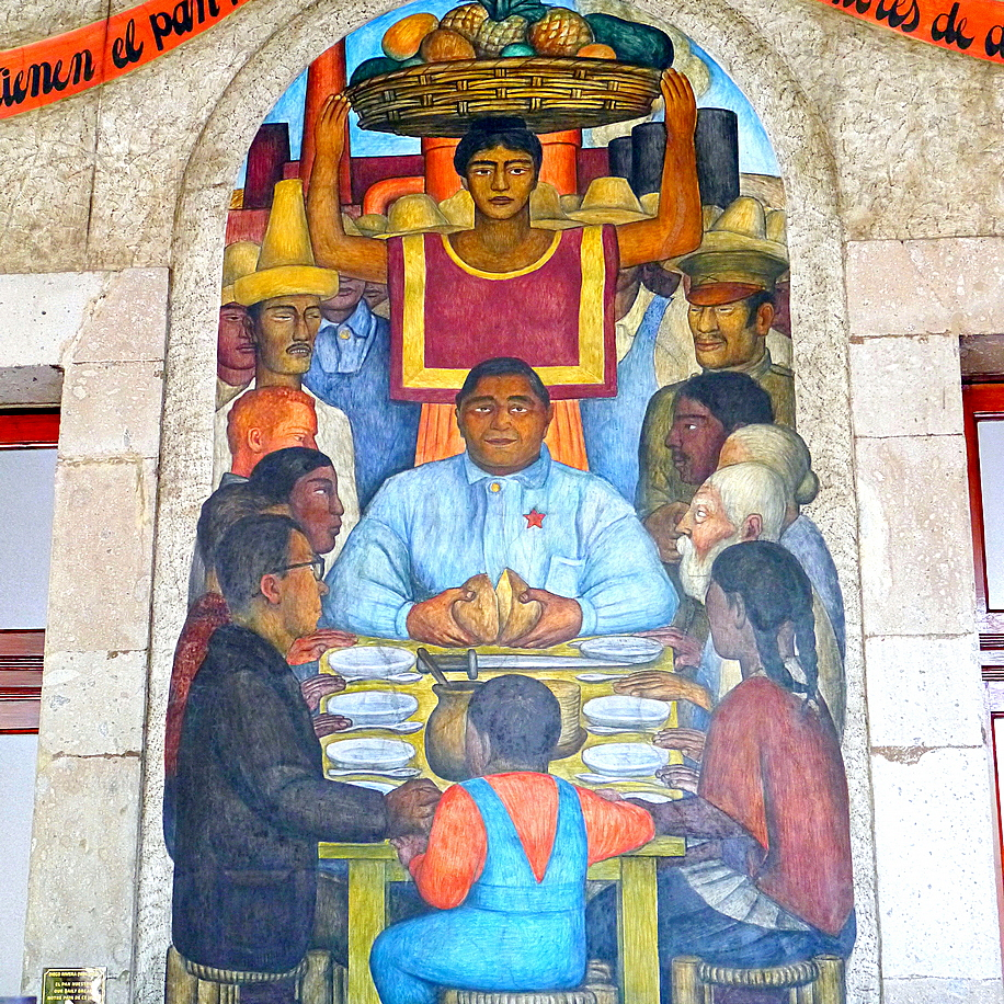 Diego Rivera's food paintings lay bare Mexico's soul